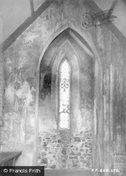 Amroth, Chapel, Stained Glass Window c.1939