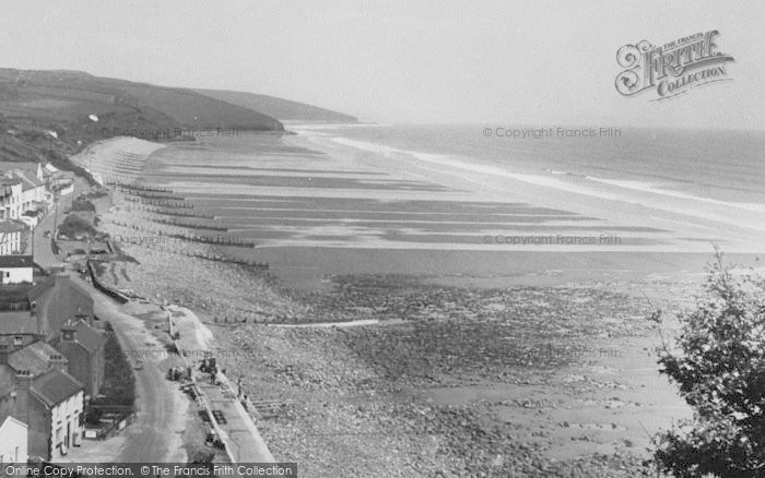 Photo of Amroth, General View c.1955