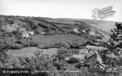 General View c.1960, Amroth