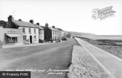 Amroth, Post Office And Promenade c.1960