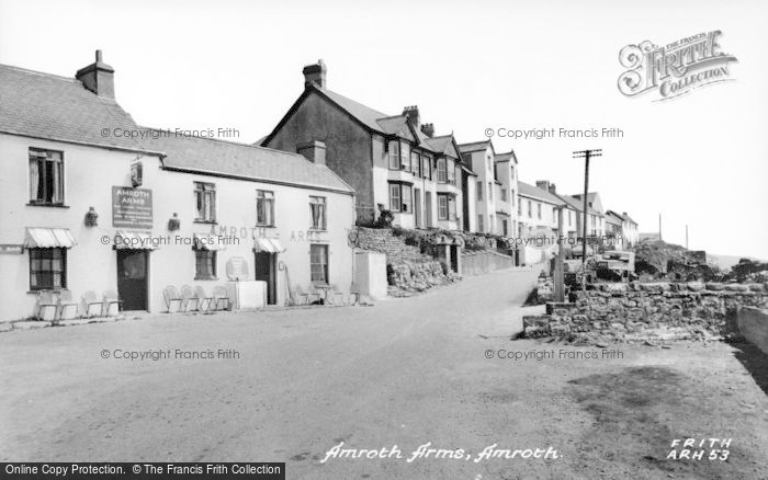 Photo of Amroth, The Amroth Arms c.1960