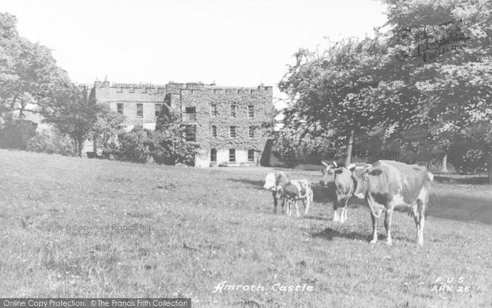 Photo of Amroth, The Castle c.1955