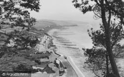 Amroth, The Village From The Cliffs c.1960