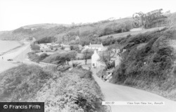 Amroth, View From New Inn c.1965