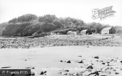 Amroth, Village From The Beach c.1955