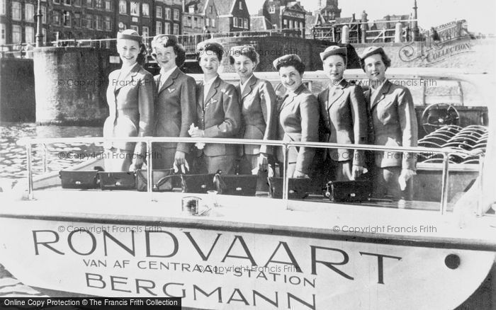 Photo of Amsterdam, Bergmann's Roundtrip Hostesses c.1950