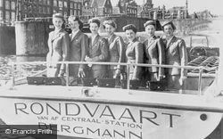 Bergmann's Roundtrip Hostesses c.1950, Amsterdam