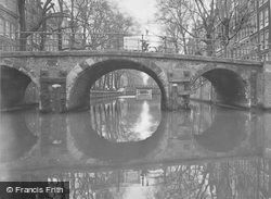 Canal Bridge c.1938, Amsterdam