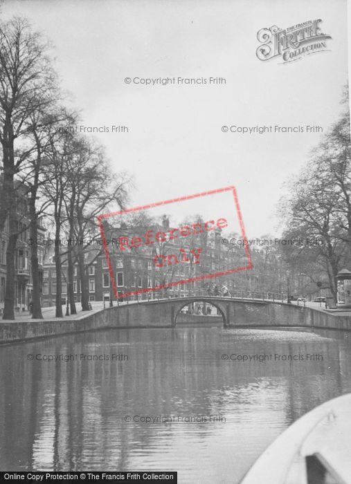 Photo of Amsterdam, Canal Bridge c.1938