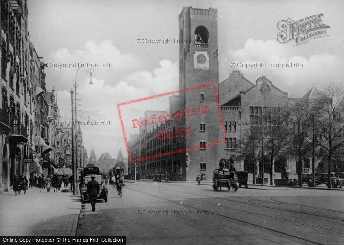 Photo of Amsterdam, Damrak Avenue And Beurs Van Berlage c.1920