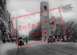 Damrak Avenue And Beurs Van Berlage c.1920, Amsterdam