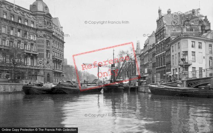 Photo of Amsterdam, Drawbridge c.1938