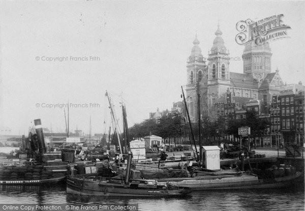 Photo of Amsterdam, Eglise St Nicholas c.1902