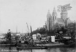 Eglise St Nicholas c.1902, Amsterdam