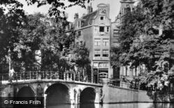 Herengracht Corner From Leidsegracht c.1920, Amsterdam