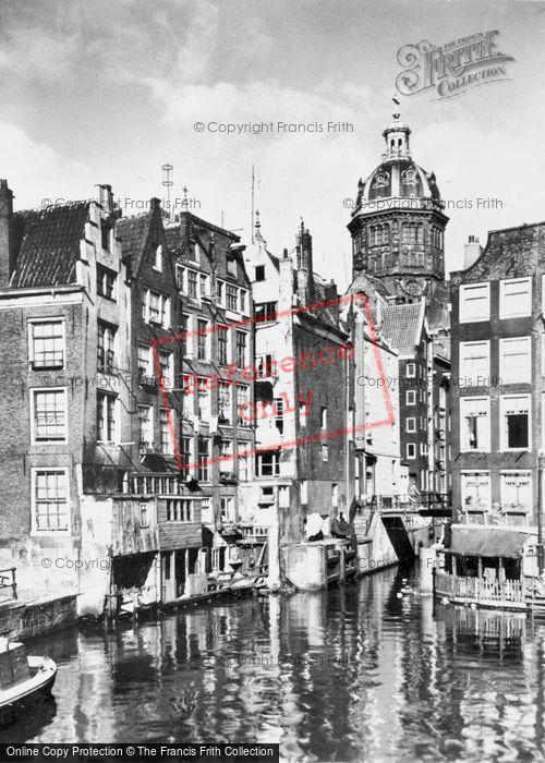 Photo of Amsterdam, Kolkje, Oldest Part Of The City c.1950