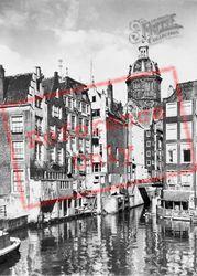 Kolkje, Oldest Part Of The City c.1950, Amsterdam