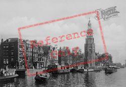 Montelbaanstoren And Oude Schans Canal c.1920, Amsterdam