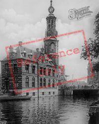 Munttoren c.1920, Amsterdam