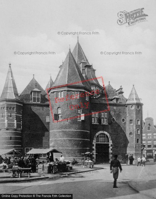 Photo of Amsterdam, Nieumarkt, The Waag c.1920