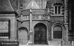 Oude Kerk, Entrance c.1920, Amsterdam
