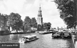Oude Schans With Montelbaanstoren c.1950, Amsterdam