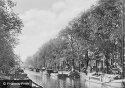 Prinsengracht At Brouwersgracht c.1920, Amsterdam