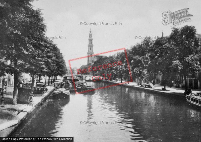 Photo of Amsterdam, Prinsengracht c.1920