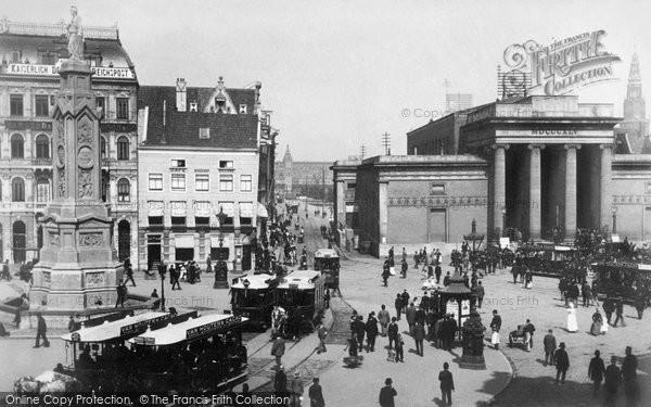 Photo of Amsterdam, The Dam Square 1895
