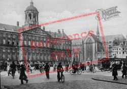 The Dam Square And Royal Palace c.1920, Amsterdam