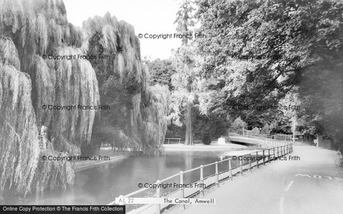 Photo of Amwell, The Canal c.1960