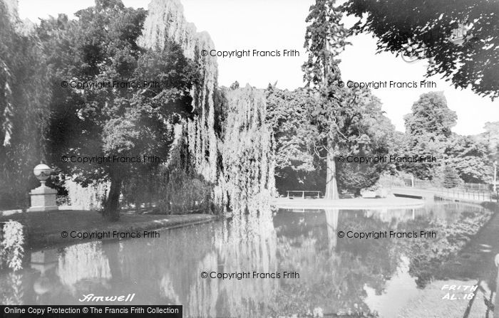 Photo of Amwell, The River c.1960