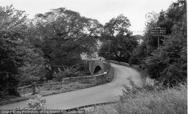 Photo of Ancrum, Ale Bridge c.1955