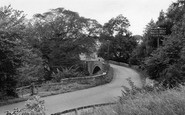 Ancrum, Ale Bridge c.1955