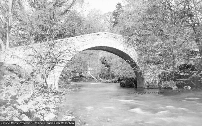 Photo of Ancrum, Lintmill Bridge c.1935