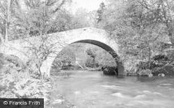 Ancrum, Lintmill Bridge c.1935