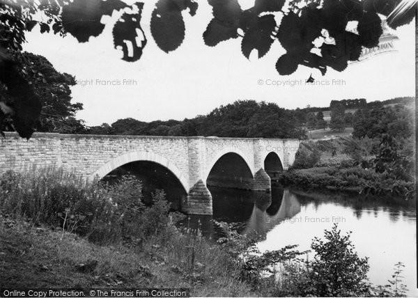 Photo of Ancrum, New Bridge, Cleekimin c1955, ref. a177014