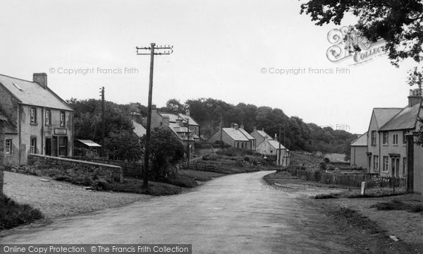 Photo of Ancrum, The Village c.1955