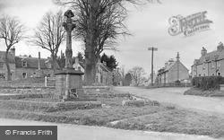 Ancrum, The War Memorial c.1950