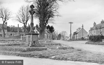 Ancrum, the War Memorial c1950