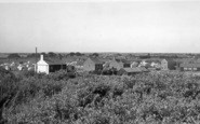 Anderby Creek, Camping Ground From Beach Downs c.1955