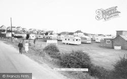 Caravan Site c.1960, Anderby Creek