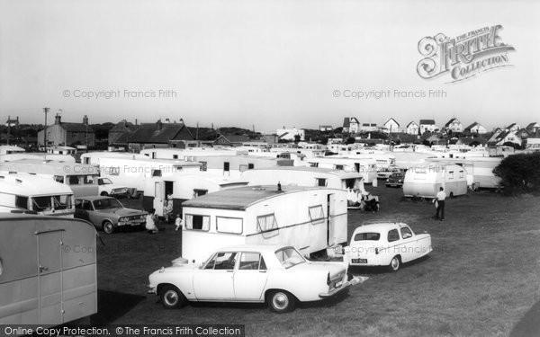 Anderby Creek, Caravan Site c.1965