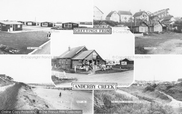 Photo of Anderby Creek, Composite c.1960