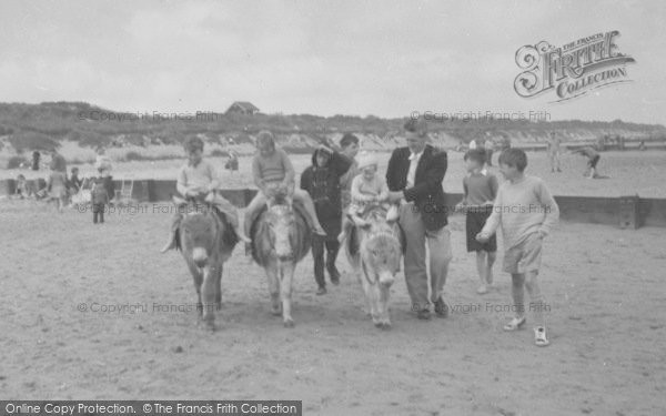 Photo of Anderby Creek, Donkey Rides c.1960