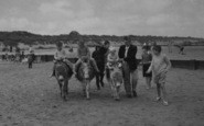 Anderby Creek, Donkey Rides c.1960