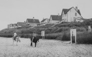 Anderby Creek, Donkey Rides, The Beach c.1960