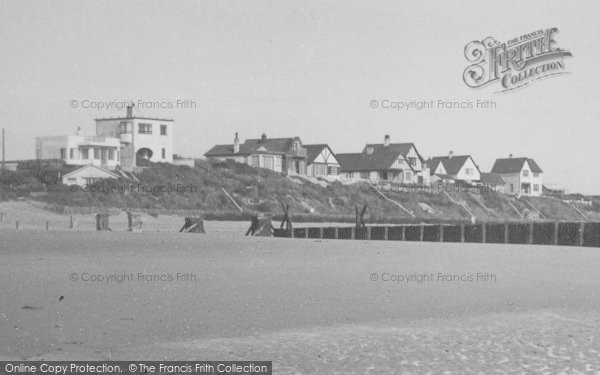 Photo of Anderby Creek, From The Beach c.1955