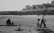 Anderby Creek, Fun On The Beach c.1955