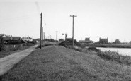 Anderby Creek, North Road Looking South c.1955